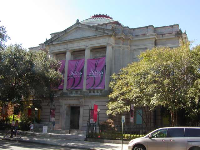 The Gibbes Art Museum- Charleston, SC